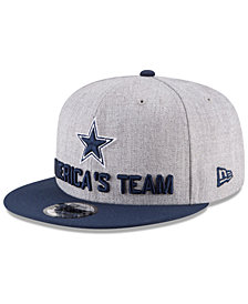 New Era Dallas Cowboys Draft 9FIFTY Snapback Cap