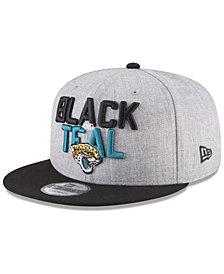 New Era Jacksonville Jaguars Draft 9FIFTY Snapback Cap