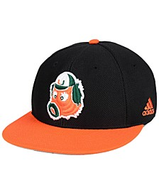 Miami Hurricanes On-Field Baseball Fitted Cap