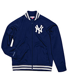 Mitchell & Ness Men's New York Yankees Top Prospect Track Jacket