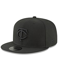 Minnesota Twins Blackout 59FIFTY FITTED Cap