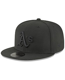 New Era Oakland Athletics Blackout 59FIFTY FITTED Cap