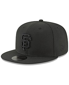 San Francisco Giants Blackout 59FIFTY FITTED Cap