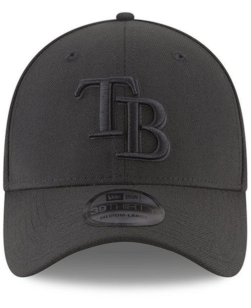 New Era Tampa Bay Rays Blackout 39THIRTY Cap & Reviews