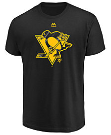 Majestic Men's Pittsburgh Penguins Hash Marks T-Shirt