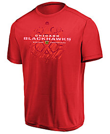 Majestic Men's Chicago Blackhawks Off the Post T-Shirt