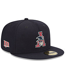 New Era Minnesota Twins League Front 59FIFTY FITTED Cap