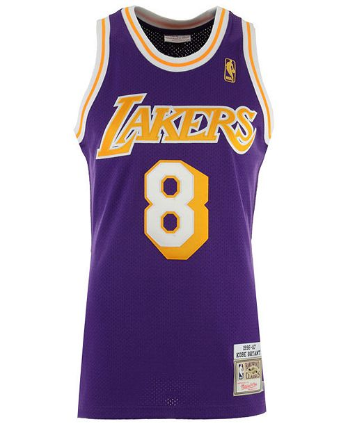 pretty nice e3221 733ba Men's Kobe Bryant Los Angeles Lakers Authentic Jersey