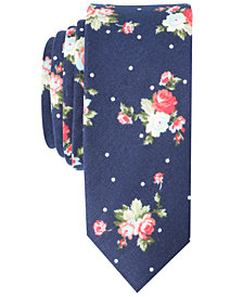 Original Penguin Men's Tessna Floral Skinny Tie
