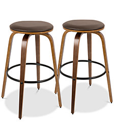 Porto Bar Stool (Set of 2), Quick Ship