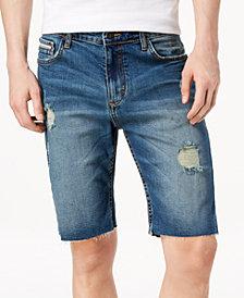 Calvin Klein Jeans Men's Ripped Indigo Shorts