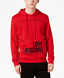 Love Moschino Men's Graphic-Print Hoodie