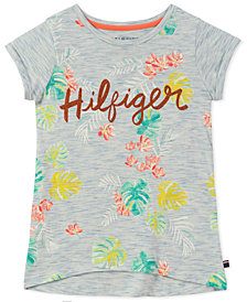 Tommy Hilfiger Palm Tree-Print T-Shirt, Big Girls