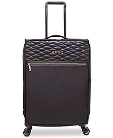 "Allure Quilted Softside 25"" Upright Spinner Suitcase"