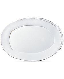 VIETRI Lastra Collection Oval Platter