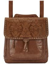 5dd9fc0b730d The Sak Ventura Embossed Leather Convertible Medium Backpack