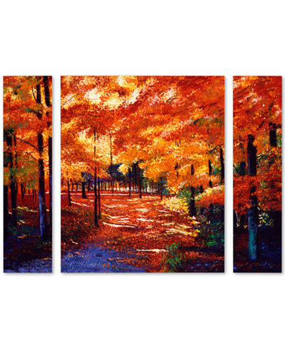 David Lloyd Glover 'Magical Forest' Large Multi-Panel Wall Art Set