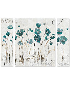 Lisa Audit 'Abstract Balance VI Blue' Large Multi-Panel Wall Art Set
