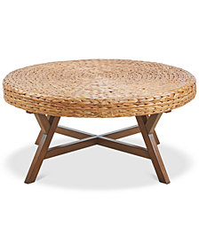 Seadrift Round Coffee Table, Quick Ship