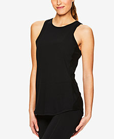 Gaiam Bailey Mesh-Trimmed Tank Top