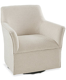 Augustine Swivel Glider Chair, Quick Ship