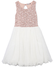 Speechless Big Girls Plus Sequin Party Dress