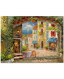 Rio 'Capri Isle' Canvas Wall Art