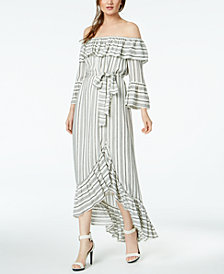 Rachel Zoe Off-The-Shoulder Viola Maxi Dress