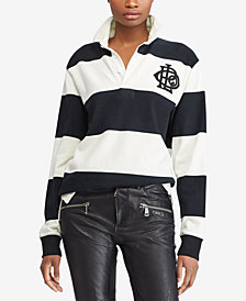 Polo Ralph Lauren Monogram Cotton Rugby Shirt