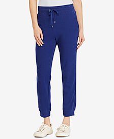 Lauren Ralph Lauren French Terry Cotton Jogger Pants