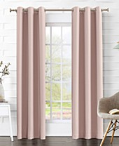 Pink Bedroom Curtains - Macy\'s