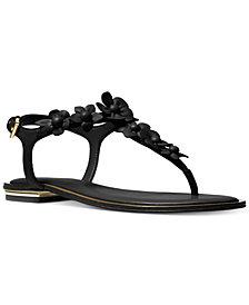 MICHAEL Michael Kors Women's Tricia Flat Thong Sandals
