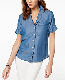 MICHAEL Michael Kors Chambray Shirt