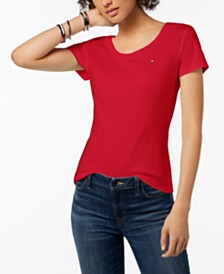 Tommy Hilfiger Cotton Logo T-Shirt, Created for Macy's