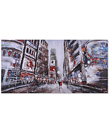 Ren Wil Evening In Times Square Wall Art, Quick Ship