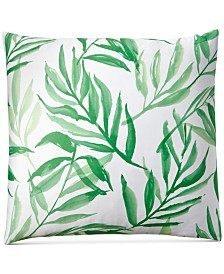 Charter Club Damask Designs Palm European Sham, Created for Macy's