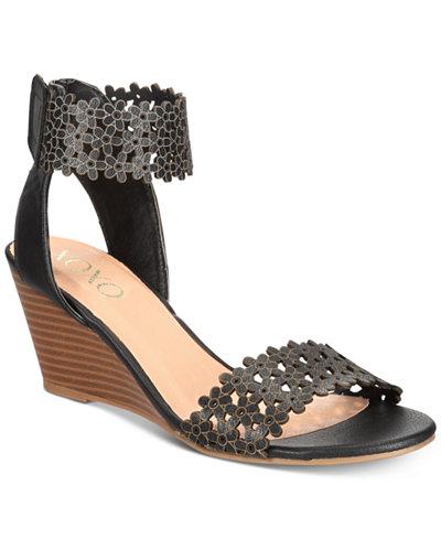 XOXO Sanya Wedge Sandals