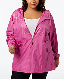 Columbia Plus Size Flashback™ Windbreaker Jacket