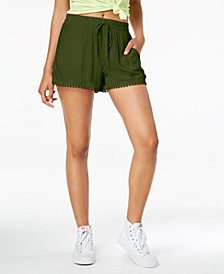 Be Bop Juniors' Pom-Pom-Trim Shorts
