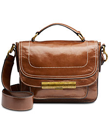 Calvin Klein Wendy Leather Small Top Handle Crossbody