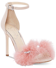 Jessica Simpson Jolinda Furry Dress Sandals