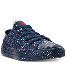 Converse Big Boys' Chuck Taylor Ox Splatter Casual Sneakers from Finish Line