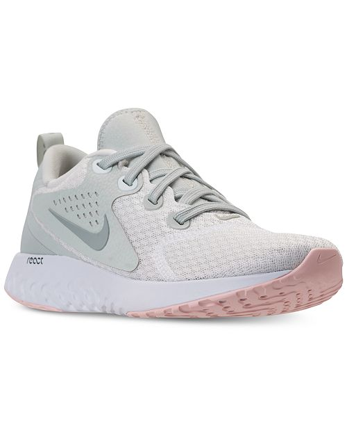 new concept 71537 b8a68 ... Nike Women s Legend React Running Sneakers from Finish ...