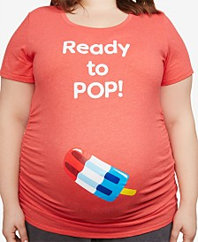 Motherhood Maternity Plus Size Ready To Pop™ Maternity T-Shirt