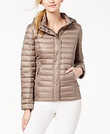 32 Degrees Packable Hooded Puffer Coat