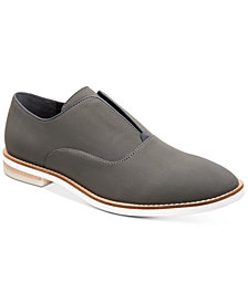 Calvin Klein Men's Auston Nubuck Smooth Loafers