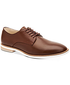 Calvin Klein Men's Aggussie Nappa Leather Oxfords