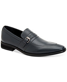 Calvin Klein Men's Reyes Calf Leather Loafers