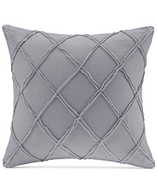"Harbor House Pieced Geometric 18"" Square Decorative Pillow"