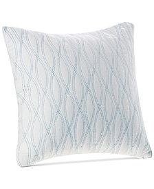 "Harbor House Coastline Embroidered 18"" Square Decorative Pillow"